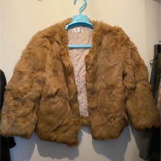 プレーンクロージング(PLAIN CLOTHING)の[plain clothing]ラビットファージャケット(毛皮/ファーコート)