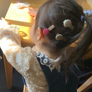 ミナペルホネン(mina perhonen)のヘアピンセット ヘアアクセサリー ベビー キッズ 女の子 ピンク(その他)