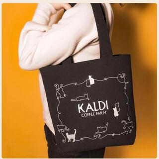 カルディ(KALDI)のKALDI ネコの日バック(バックのみ)(トートバッグ)