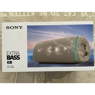 SONY - SONY srs-xb43 ワイヤレススピーカー ベージュ 美品