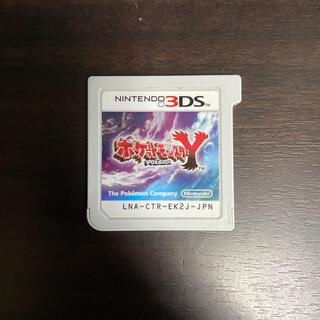 ニンテンドー3DS(ニンテンドー3DS)のポケットモンスター Y (3DS用ソフト)ソフトのみ(その他)
