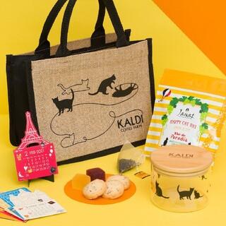 カルディ(KALDI)の【KALDI】カルディ ネコの日バッグ2021☆抜き無し(菓子/デザート)
