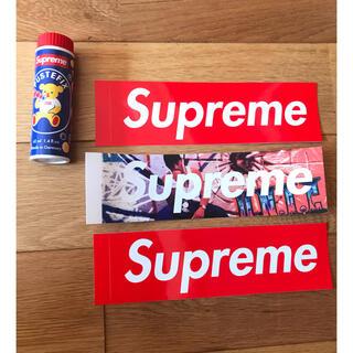 シュプリーム(Supreme)のシュプリームステッカー3枚+シャボン玉 Supreme シュプリーム kaws(その他)