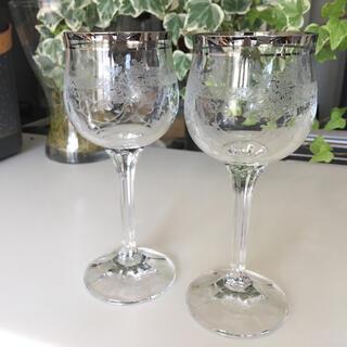 ボヘミア クリスタル(BOHEMIA Cristal)のボヘミア ワイングラス ペアセット (グラス/カップ)