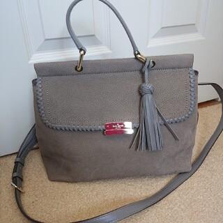 kate spade new york - ケイトスペード グレー ハンドバッグ