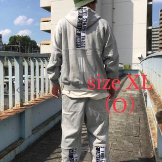adidas - 新品 adidas アディダス スウェット上下セット 灰  XL・O