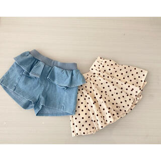 petit main - ショートパンツ キュロット スカート 90セット