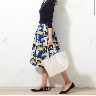 23区 - 23区JENNYBOWER PRINT スカート