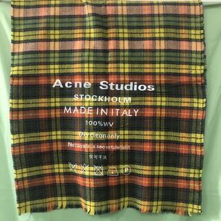 ACNE - Acne studios マフラー 大判マフラー