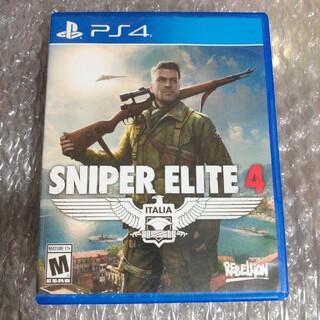プレイステーション4(PlayStation4)のスナイパーエリート4 SNIPER ELITE4 海外版(家庭用ゲームソフト)