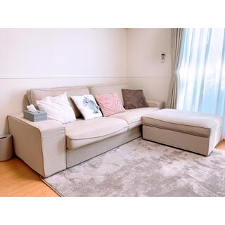 イケア(IKEA)のIKEA ソファ KIVIK シーヴィク 3人掛けソファ(三人掛けソファ)