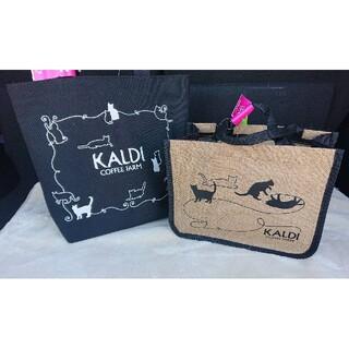 カルディ(KALDI)のカルディ 猫の日 猫の日バック プレミアムバック(トートバッグ)
