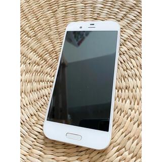 アクオス(AQUOS)の中古 au AQUOS R SHV39 ホワイト (スマートフォン本体)