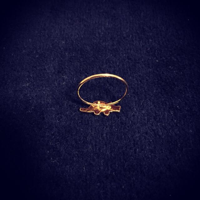GIZA(ギザ)の【GIZA×NANA-NANA】恐竜リング/指輪 レディースのアクセサリー(リング(指輪))の商品写真