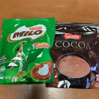 ネスレ(Nestle)のミロ240g & ココア180g(その他)