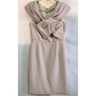 GRACE CONTINENTAL - グレースコンチネンタル タックリボンタイト 結婚式 ワンピース ドレス