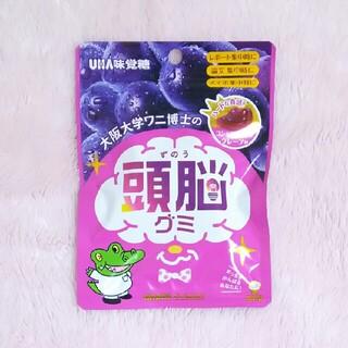 ユーハミカクトウ(UHA味覚糖)の大阪大学ワニ博士の頭脳グミ コンセントレイトグレープ味(菓子/デザート)