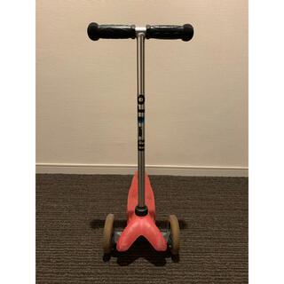 【値下げ】キックボード マイクロ M-CRO 幼児 三輪車 赤色(三輪車/乗り物)