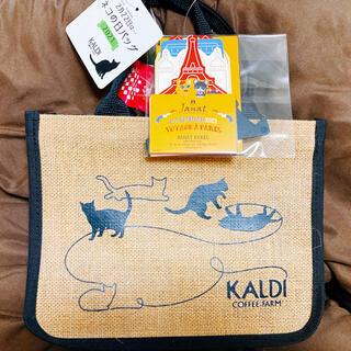 カルディ(KALDI)のカルディ 猫の日バッグとカレンダー(エコバッグ)