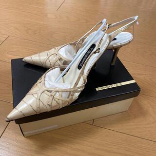 ストロベリーフィールズ(STRAWBERRY-FIELDS)の24.5cm STRAWBERRY-FIELDS 9cmヒールパンプス♪(ハイヒール/パンプス)