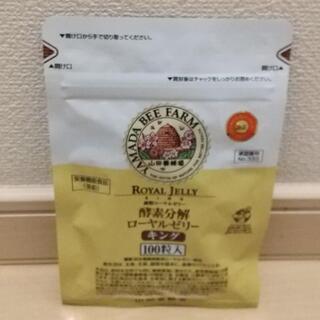 ヤマダヨウホウジョウ(山田養蜂場)の山田養蜂場 酵素分解ローヤルゼリーキング 袋入 100粒(その他)