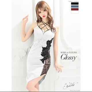 ROBE - Grossy アシメラインドレス キャバドレス