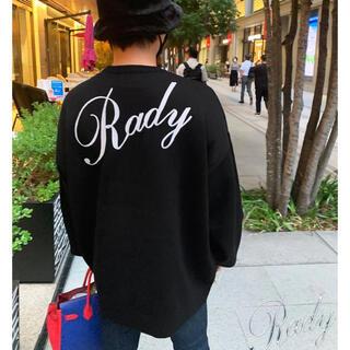 Rady - 新品未使用タグ付き♡Rady  メンズ ニットトップス ブラック Lサイズ