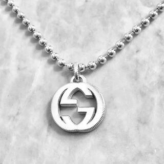 グッチ(Gucci)の正規品 グッチ ネックレス シルバー GG 銀 SV925 ボール チェーン 2(ネックレス)