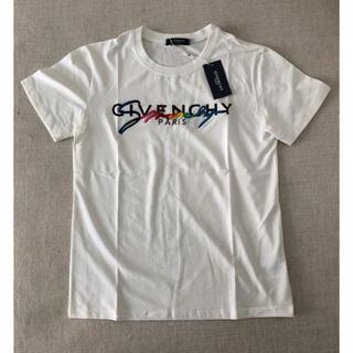 ジバンシィ(GIVENCHY)のGIVENCHYジバンシィ レインボーTシャツ Lサイズ(Tシャツ/カットソー(半袖/袖なし))
