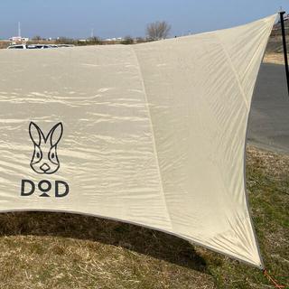 ドッペルギャンガー(DOPPELGANGER)のDOD ドッペルギャンガー タープ 絶版品 レア ヘキサタープ ラビット大きめ(テント/タープ)