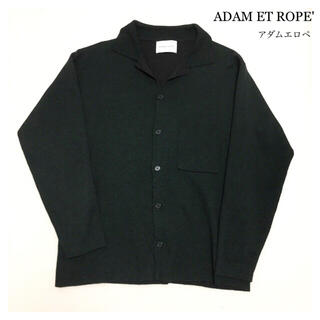 アダムエロぺ(Adam et Rope')のアダムエロペ カーディガン ニット ダークグリーン(カーディガン)