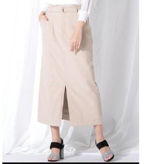 VICKY - ビッキー ベルト付ストレート スカート
