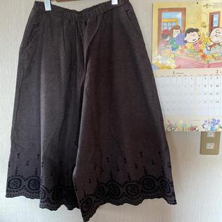SM2 - SM2*綿麻 裾スカラップレースパンツ