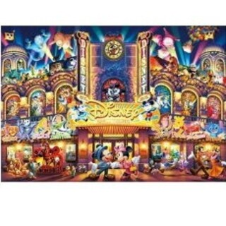 Disney - ディズニー ドリームシアター パズル 絵 額入り