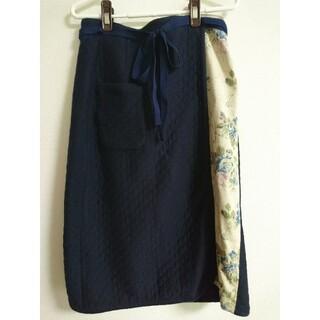 ハグオーワー(Hug O War)のハグオーワー キルティング 巻きスカート(ロングスカート)