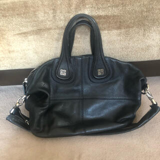 ジバンシィ(GIVENCHY)のジバンシィ  ブラックハンド(ショルダー)bag(ハンドバッグ)