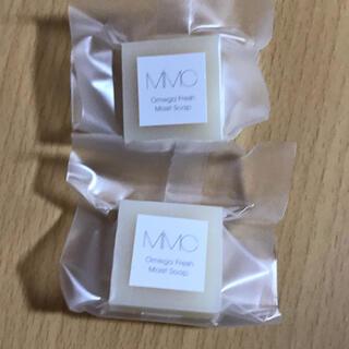 エムアイエムシー(MiMC)のMiMC 石鹸 オメガフレッシュモイストソープ 9g 2個(洗顔料)