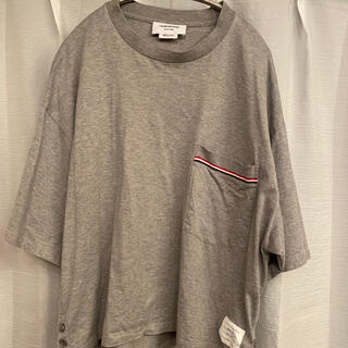THOM BROWNE - THOMBROWNE トムブラウン Tシャツ ポケット付き オーバーサイズ 2