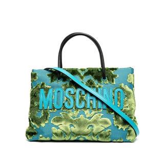 モスキーノ(MOSCHINO)の日本未入荷 MOSCHINO タペストリーバッグ(ショルダーバッグ)