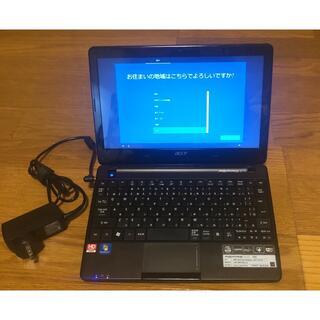 エイサー(Acer)のACER ASPIRE one 722(C-50) 4GB 320GB(ノートPC)