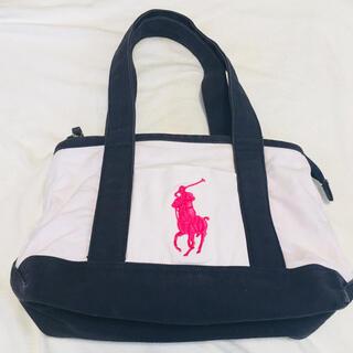 POLO RALPH LAUREN - POLOポロラルフローレンポニー刺繍キャンバストートバッグミディアムトートバッグ