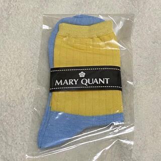 マリークワント(MARY QUANT)のマリークワント ソックス 靴下(ソックス)