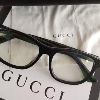 Gucci - お値下げ!GUCCI♥メガネ♥伊達メガネ♥ブルーライトカット