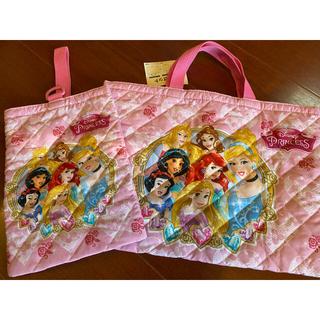 ディズニー(Disney)のディズニープリンセス 通園 通学バッグ 2点セット(通園バッグ)