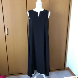 SCOT CLUB - 【新品未使用】fennel  ロングワンピース 黒