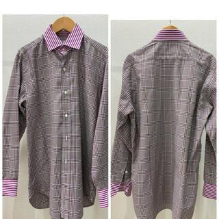 エトロ(ETRO)の良品 定価4万 エトロ 高級シャツ sartoria uomo dal 1968(シャツ)