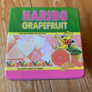 週末値下げHARIBO grapefruit AMハリボーグレープルーツ缶(S)(菓子/デザート)