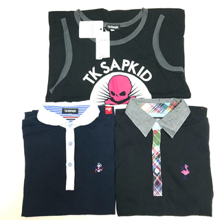 TK - TK SAPKID    ポロシャツ・タンクトップ【新品未使用】3点セット