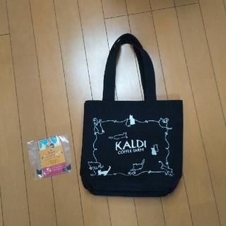 カルディ(KALDI)のカルディ 猫の日バッグ&カレンダー(トートバッグ)