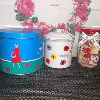 タカシマヤ(髙島屋)のオードリー キャニスターとストロベリーショコラとS缶セット(菓子/デザート)